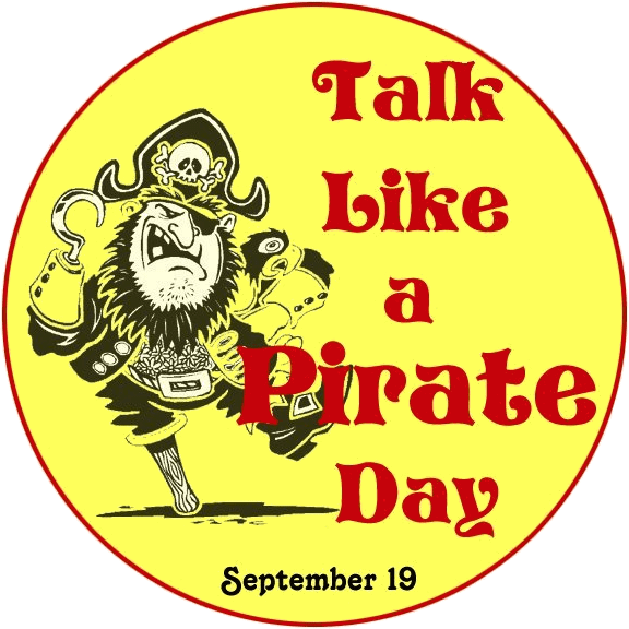National Talk Like a Pirate Day Logo