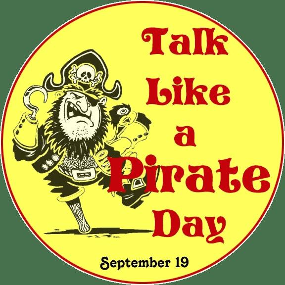 National Talk Like a Pirate Day Logo