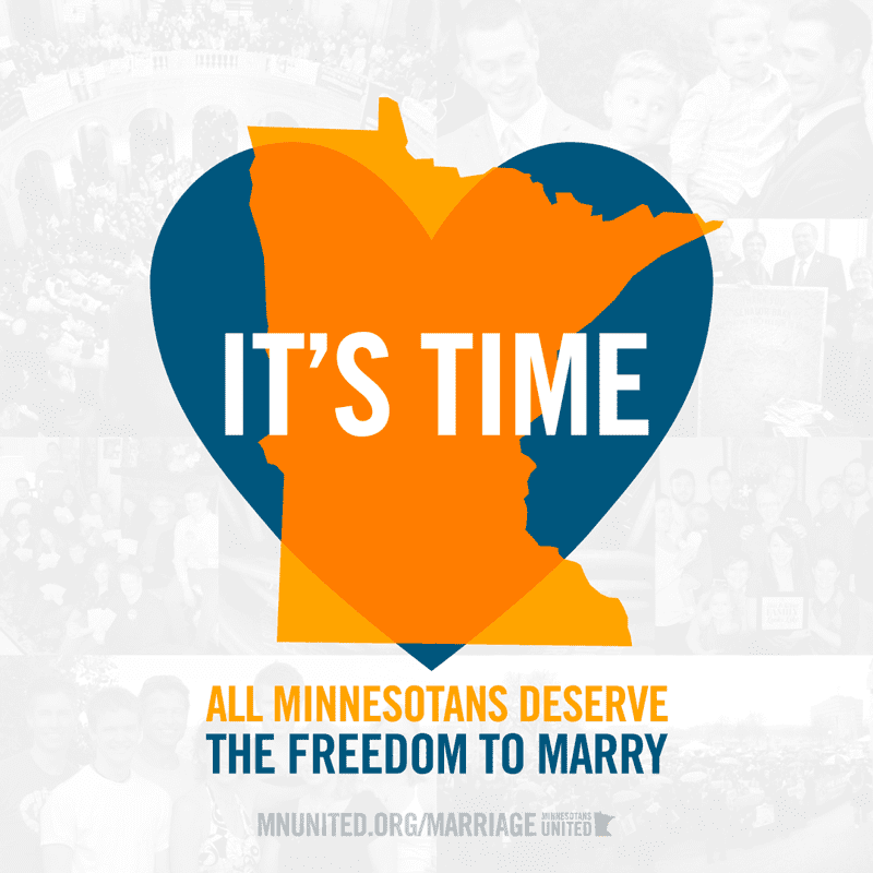 Minnesota legalizes gay marriage, freedom to marry in Minnesota, marriage equality in Minnesota