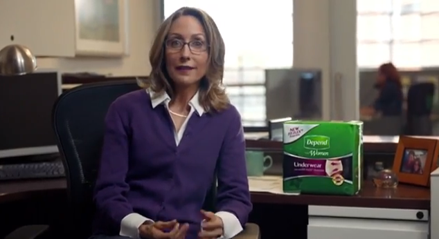 Depends Adult Diapers for the weekend, Take the weekend on with Depends adult diapers, who wears adult diapers, Depends commercial about the weekend