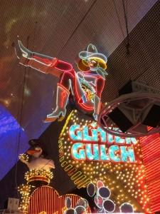 Glitter Gulch neon Light, neon lights for Glitter Gulch, cowgirl neon light