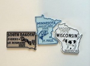 state magnets of MN WI SD