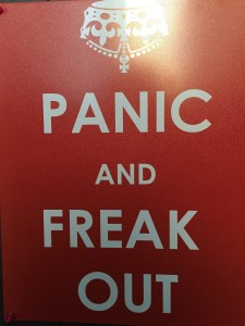 Panic and Freak Out!!