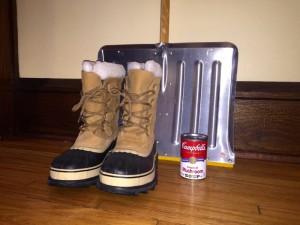 Minnesota winter survival kit