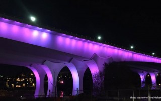 Death of Prince I35W Bridge Purple