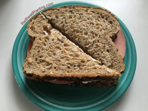 I'm just making a sandwich