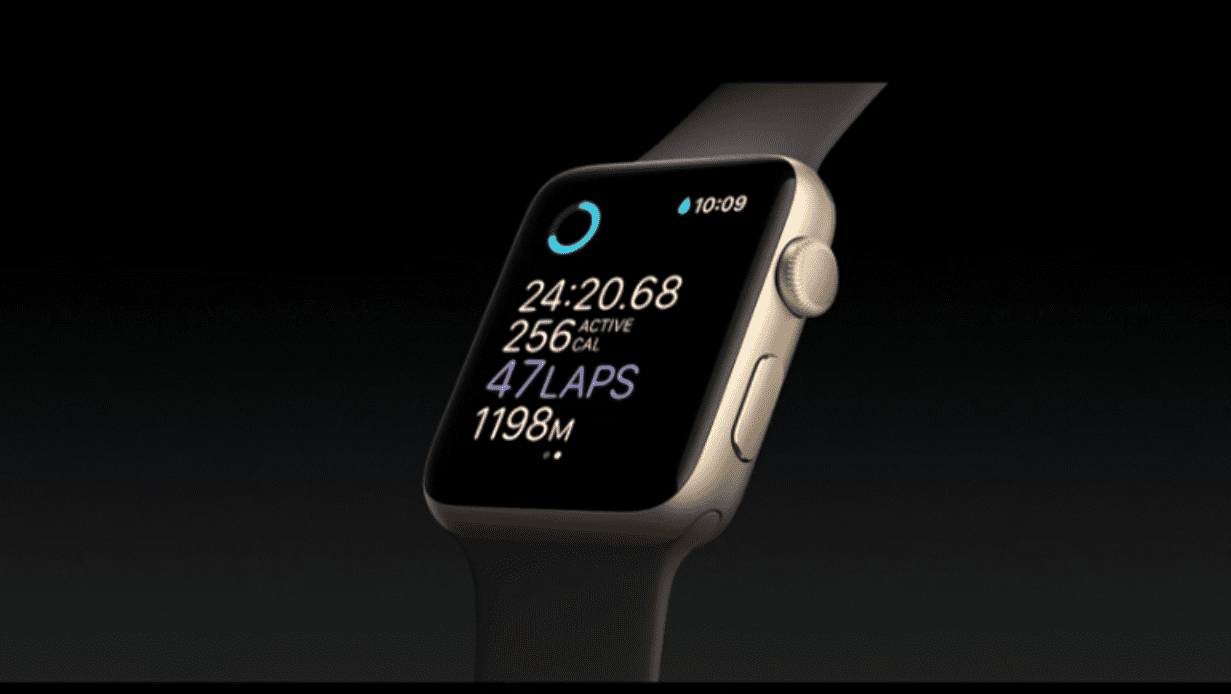 Apple upgrades Apple Watch iphone7
