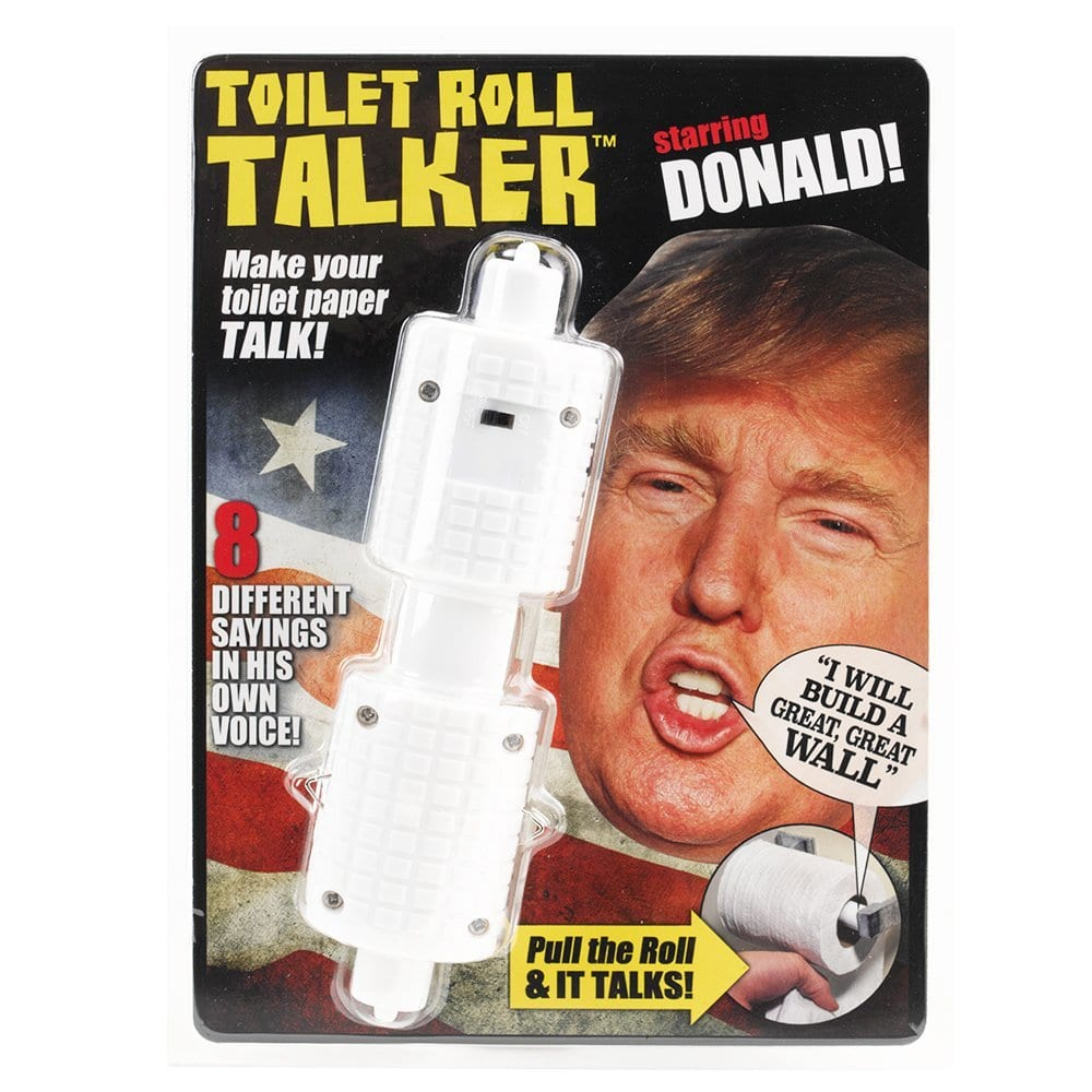 Trump talking toilet paper roll