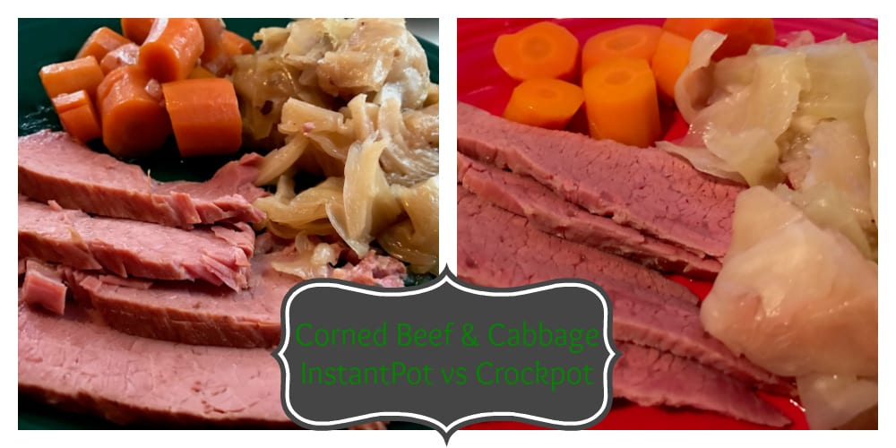 corned beef and cabbage instantpot vs crockpot