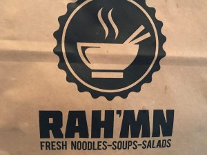 RAH'MN Review - The Ramen Place on Snelling