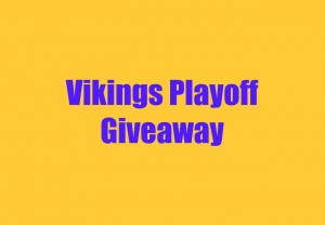 Vikings Playoff Giveaway
