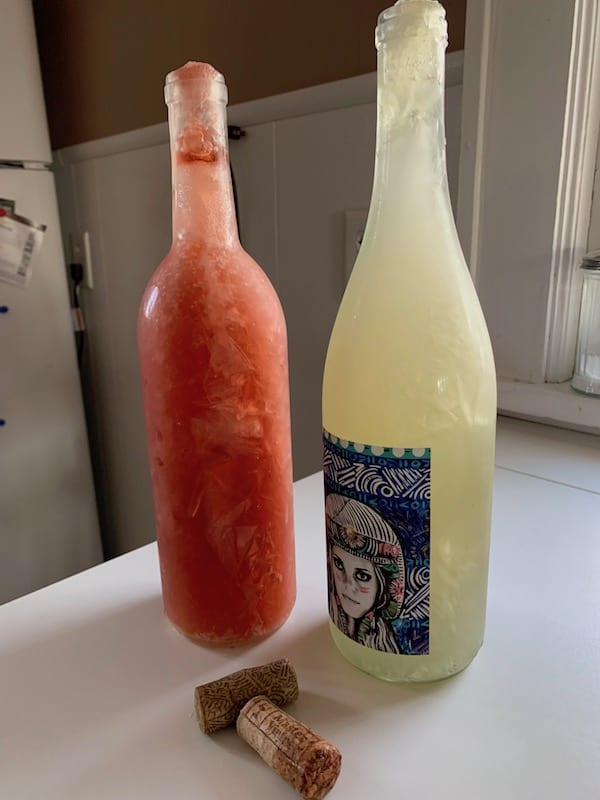 Frozen wine