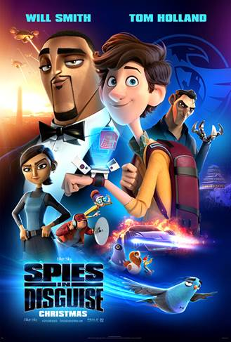 Spies in Disguise giveaway