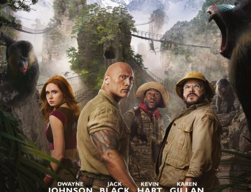 Giveaway!! Free Movie Passes to Jumanji: The Next Level