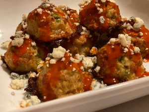 Buffalo Bites, Super Bowl Appetizers, Finger Foods, Easy Buffalo Chicken Meatballs