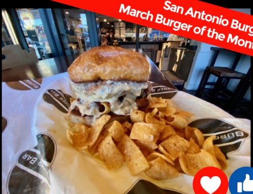 March BOM at the Burger Bar in White Bear Lake